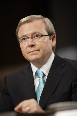 Kevin Rudd, National Library of Australia