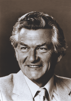 Bob Hawke, National Library of Australia