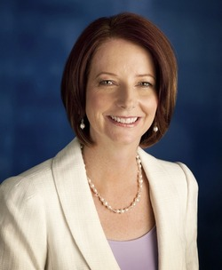 Julia Gillard, Prime Minister of Australia website